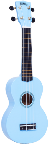 "Mahalo M1 Rainbow ""R"" Series Soprano Ukulele Light Blue"