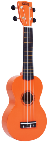 "Mahalo M1 Rainbow ""R"" Series Soprano Ukulele Orange"