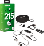 Shure SE215SPE-W-BT1 Sound Isolating™ Bluetooth Earphones
