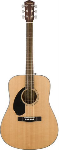 Fender CD-60S LH Left-Handed Natural