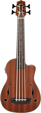 Kala UBASS-JYMN-FS Journeyman Acoustic/Electric U-Bass with F-Holes