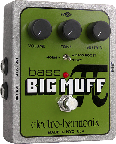 Electro-Harmonix Bass Big Muff Pi Distortion/Sustainer