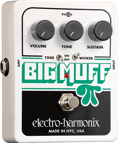 Electro-Harmonix Big Muff Pi with Tone Wicker Distortion/Sustainer