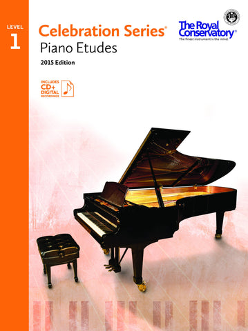 RCM Celebration Series Piano Etudes 2015 Edition