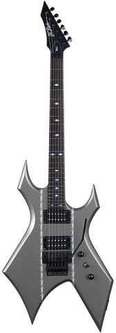 B.C. Rich MK3 Warlock Barbed Wire Gunmetalic Satin
