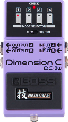 BOSS DC-2w Dimension C
