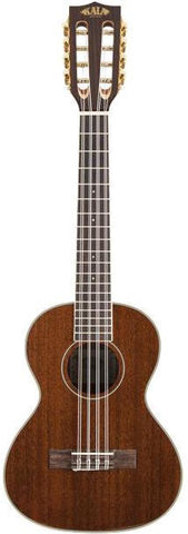 Kala KA-8 Eight String Gloss Mahogany Tenor Ukulele