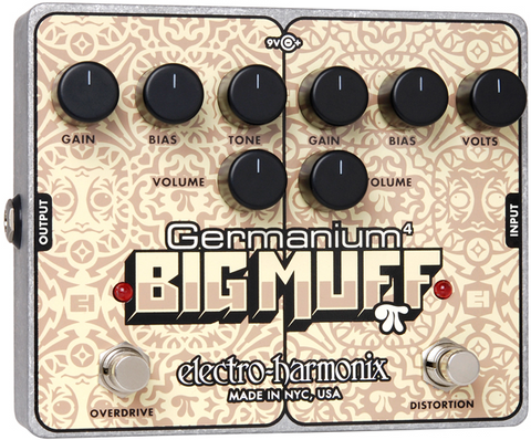Electro-Harmonix Germanium 4 Big Muff Pi Distortion/Overdrive
