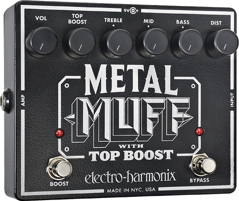 Electro-Harmonix Metal Muff Distortion with Top Boost