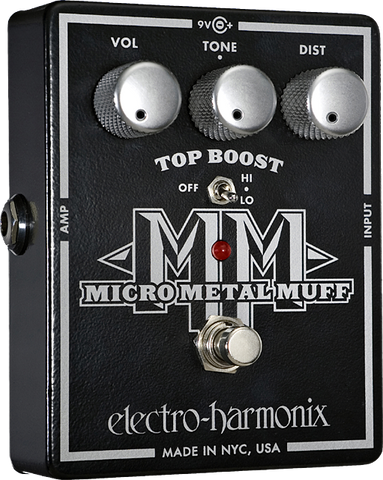 Electro-Harmonix Micro Metal Muff Distortion with Top Boost