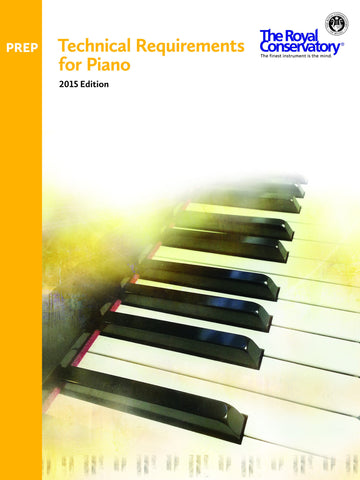 RCM Technical Requirements for Piano 2015 Edition