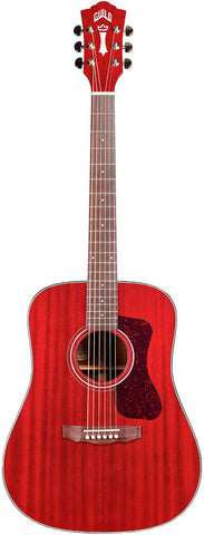 Guild D-120 Indian Rosewood Fingerboard Cherry Red