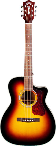 Guild OM-140 CE Indian Rosewood Fingerboard Sunburst