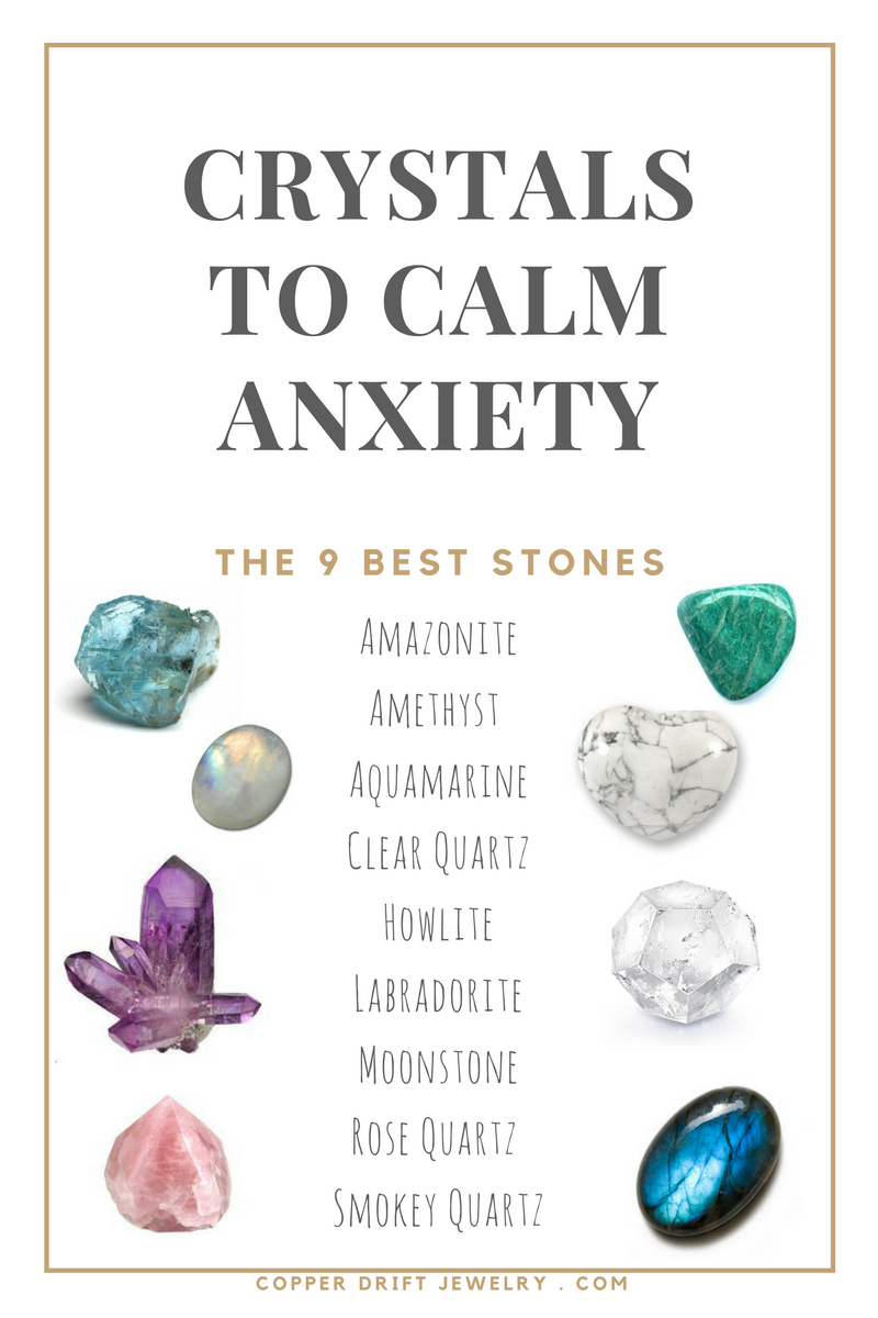 Best Crystals for Anxiety & Stress Relief
