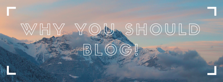 Why Blogging is the Best!