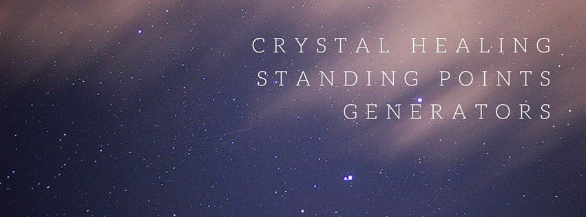 Crystal Healing Standing Points - Generator