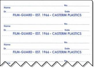 Large Name Tag(LNT) for FILM-GUARD™ X-Ray Mounts from CastermPlastics.com