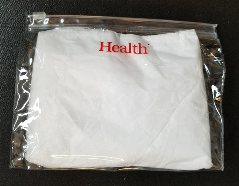 "IMEX Clear Bag with Zipper Closure 7""W x 5""H x 1.5""D Hot Stamp (qty 100)"