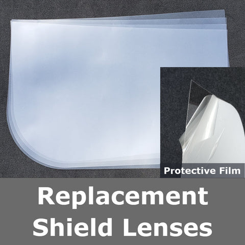 Hat Face shield replacment lense set