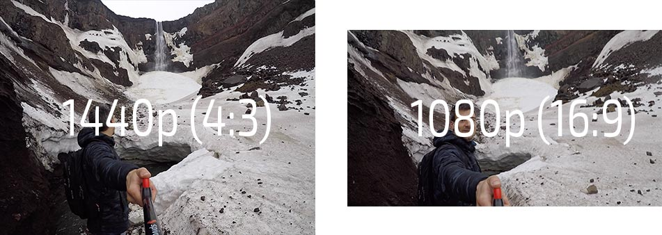 1440p versus 1080p GoPro Video (Screenshots)