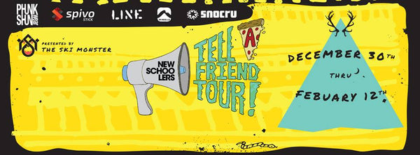 The Tell a Friend Tour Poster