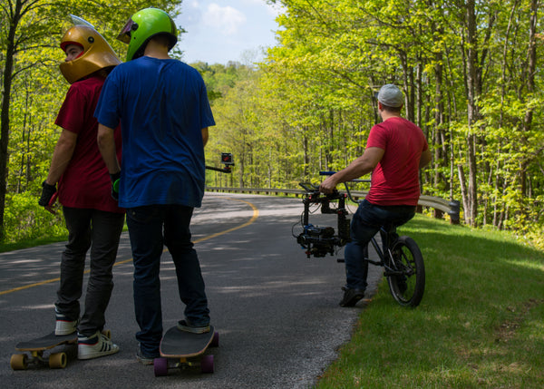 Longboarding Spivo Camera Shoot