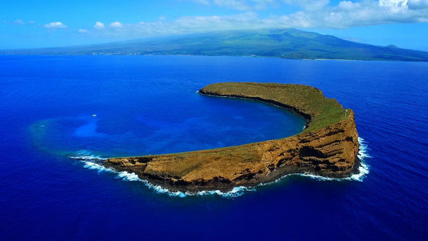 View of Molokini Crater, Maui