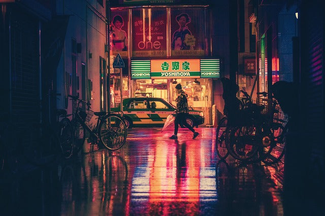 Night Photography in Japan