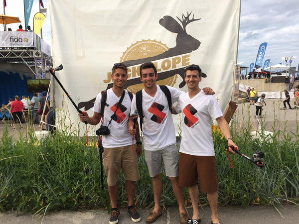 Spivo Team at Jackalope Festival in Montreal