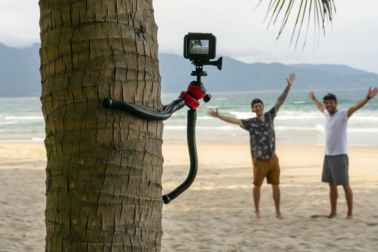 Get creatives angles with the help of the Spivo Flexible Tripod