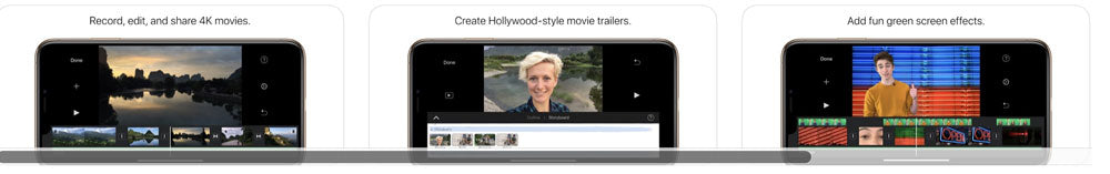 iMovie Free Video Editor for iPhones and iPads