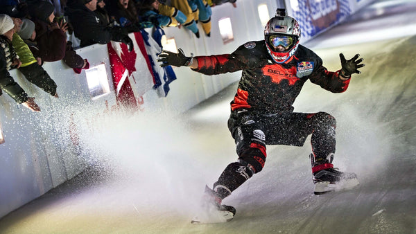 Cameron Naasz Winning at Redbull Crashed Ice 2016