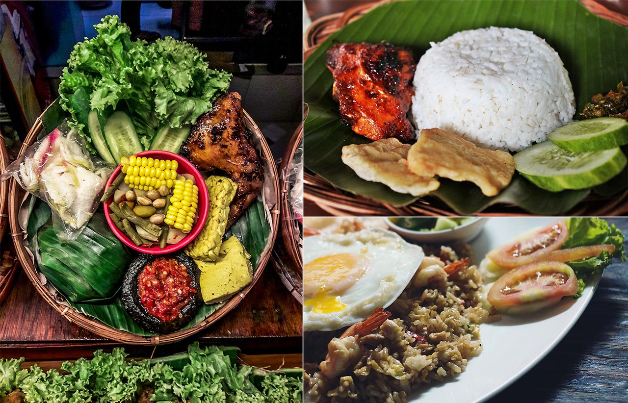 Delicious Indonesian cuisine
