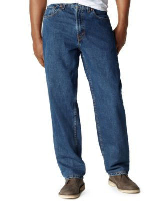 Levi's Men's Big and Tall 560 Comfort-Fit Dark Stonewash Jeans