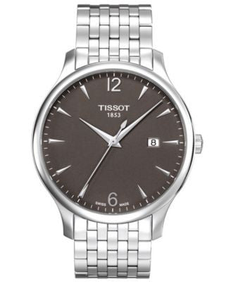 Tissot Watch, Men's Swiss Tradition Stainless Steel Bracelet T0636101106700