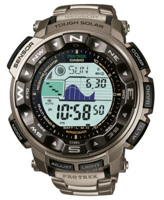 G-Shock Men's Digital Pathfinder Titanium Bracelet Watch PRW2500T-7