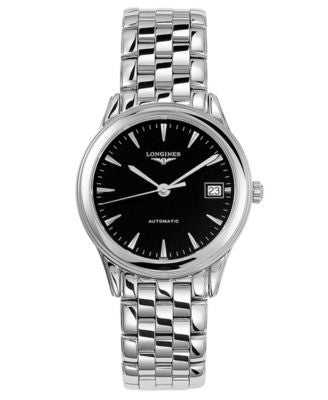 Longines Watch, Men's Swiss Automatic Flagship Stainless Steel Bracelet L47744526