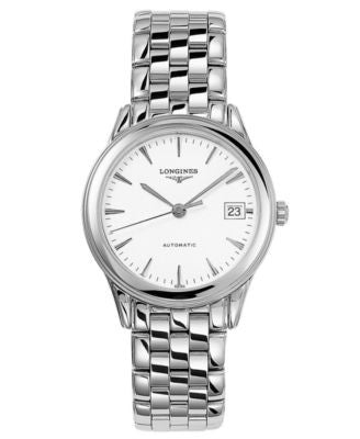 Longines Watch, Men's Swiss Automatic Flagship Stainless Steel Bracelet 36mm L47744126