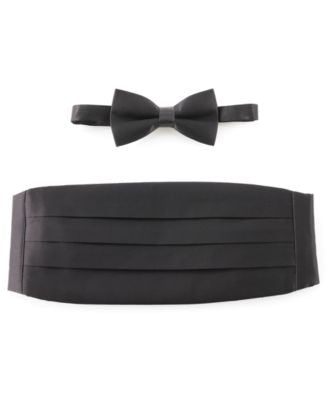 Michelsons of London Tie, Bow Tie & Cummerbund Set