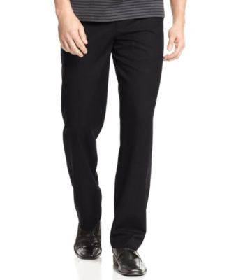 Calvin Klein Men's Solid Straight Fit Pants