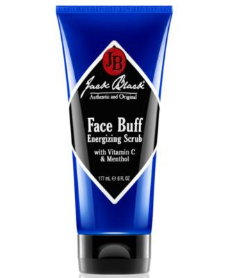 Jack Black Face Buff Energizing Scrub with Vitamin C & Menthol, 6 oz