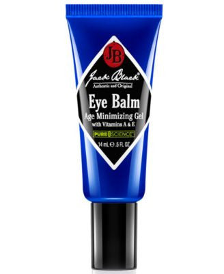 Jack Black Eye Balm Age Minimizing Gel with Vitamins A & E, 0.5 oz