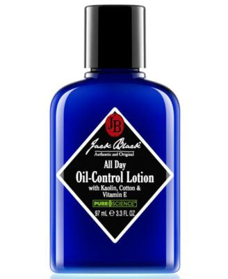 Jack Black All Day Oil-Control Lotion with Kaolin, Cotton & Vitamin E, 3.3 oz