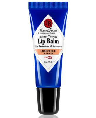 Jack Black Intense Therapy Lip Balm SPF 25 with Grapefruit & Ginger, 0.25 oz