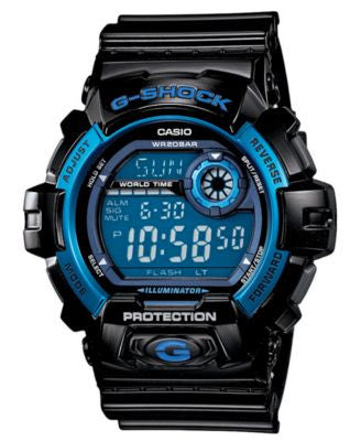 G-Shock Men's Digital Black Resin Strap Watch 46mm G8900A-1