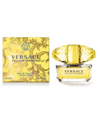 Versace Yellow Diamond Eau de Toilette, 1.7 oz