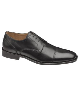 Johnston & Murphy Knowland Cap Toe Lace-Up Shoes