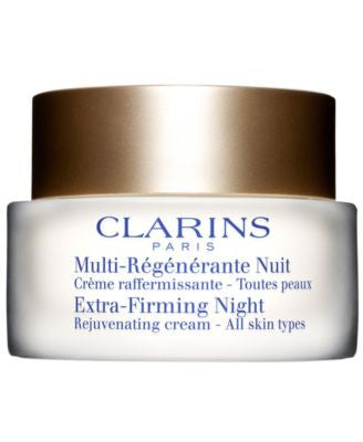 Clarins Extra-Firming Night Rejuvenating Cream - All Skin Types, 1.7 oz