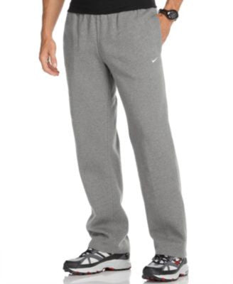 Nike Men's Classic Fleece Open-Hem Sweatpants
