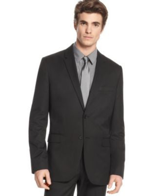 Calvin Klein Men's Blazer, Slim Fit Two Button Blazer